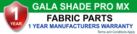 Pro MX Fabric Warranty