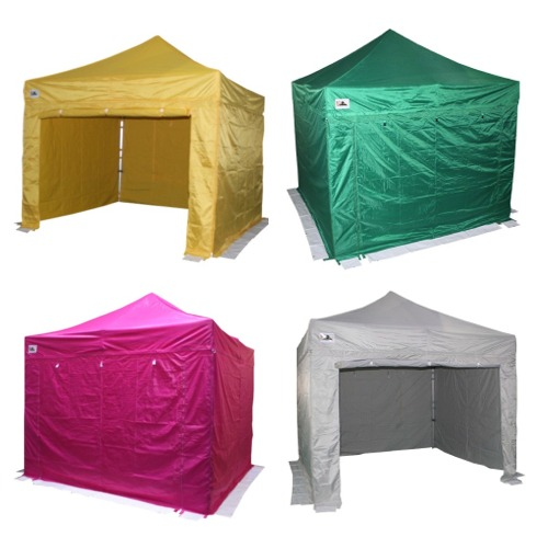 Gazebo zipped door sidewall