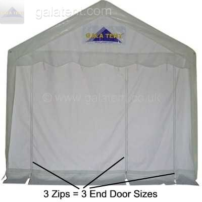 Enlarged Image of 6m x 6m Multi-Span Gala Tent (PVC Coated)