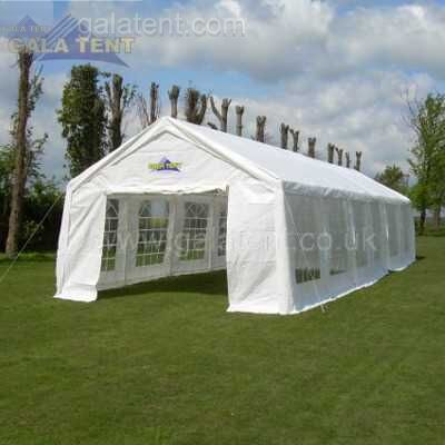Enlarged Image of 4m x 12m Multi-Span Gala Tent (PE)