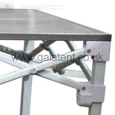 4m  Pop Up Trader Counter Wooden Top with Aluminium Folding Legs