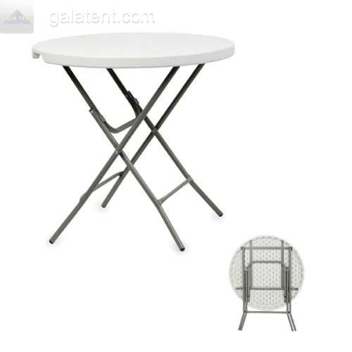 Buy Marquee Equipment / 3ft Round Event Folding Table Online at Gala Tent