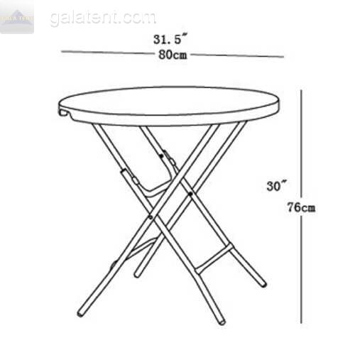 Buy Small Round Event Folding Table Event Foldaway Catering