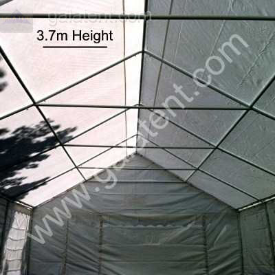 Enlarged Image of 6m(wide) x 4m Multi-Span Gala Tent (100% PVC)