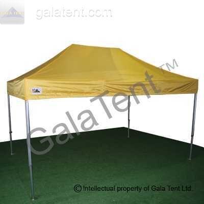 Buy 3m X 45m Gala Shade Pro 50 Gazebo Yellow 3x45m Heavy Duty Pop Up