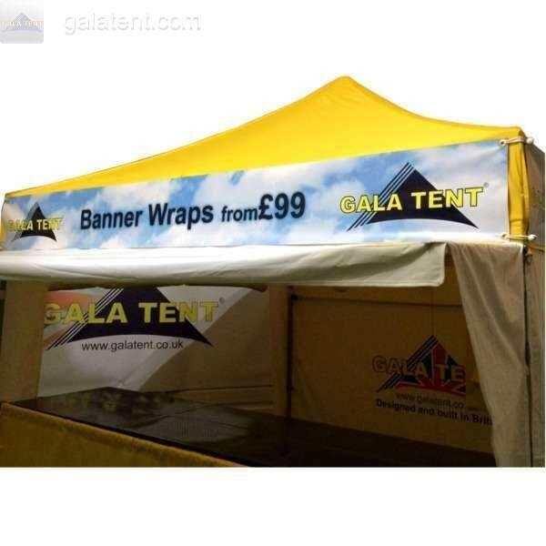 3m x 3m gazebo printed banner wrap full set pvc for Banner wrap