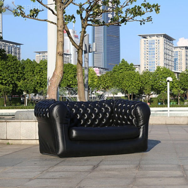 Inflatable Chesterfield Sofa Hire: Product Image
