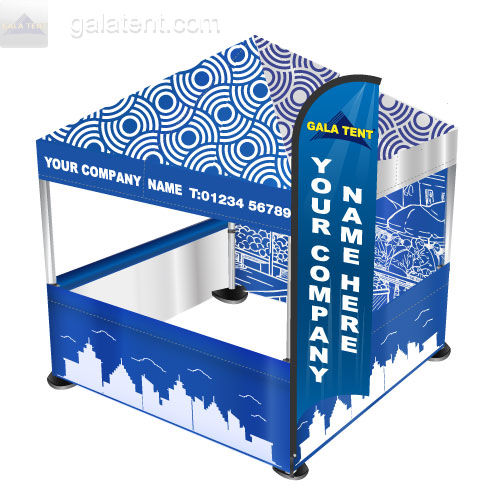 Printing includes a 3m x 3m Fully Dye Sublimation printed Canopy 3 Dye Sublimation Half Walls ...  sc 1 st  Gala Tent & Custom Printed Pop Up Gazebos