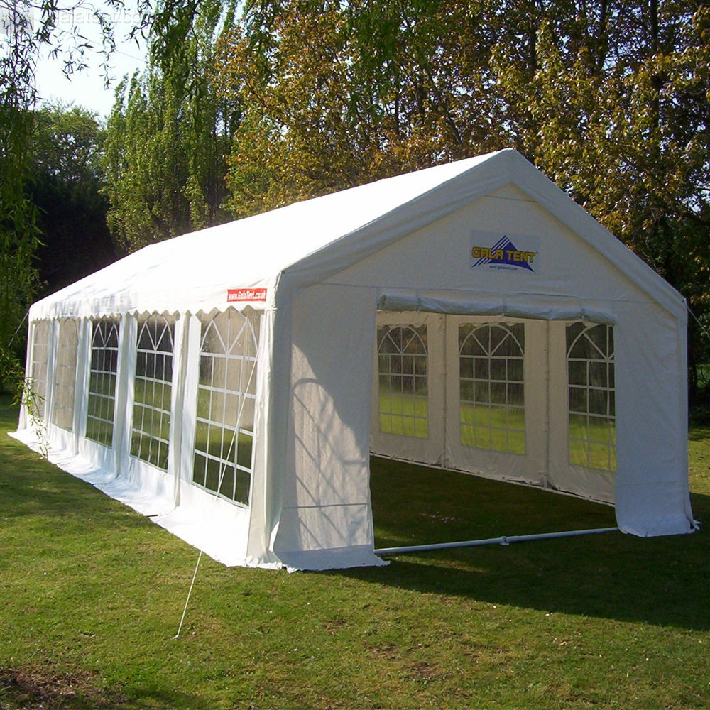 & Buy 4m x 10m Gala Tent Marquee PVC Coated Poly 4x10m Wedding Party