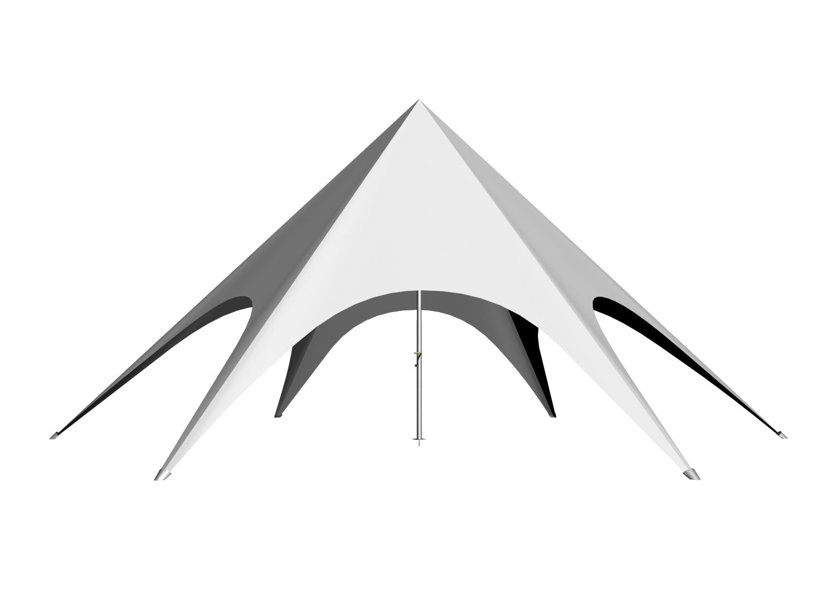 Star Shade Side View  sc 1 st  Gala Tent & Custom Printed Pop Up Gazebos
